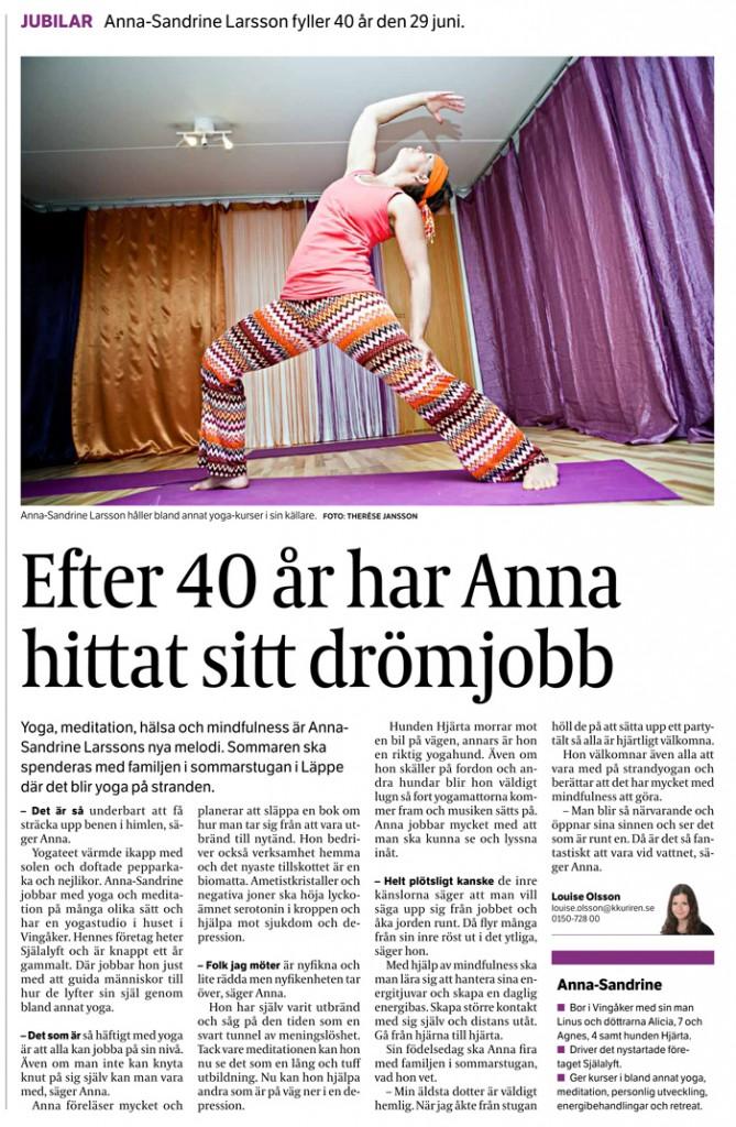 2014-06-28-Katrineholms-Kuriren-Anna-Sandrine-Larsson